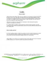 GABA-INFORMATION